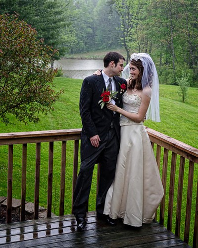 Wedding At Lotus Lake Lodge